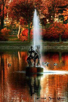 Fountain, Buffalo, New York