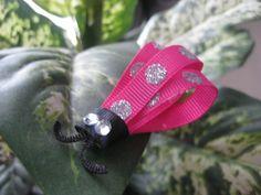 Toddler Ladybug Hair Clip  Baby Hair Clip  by katelynnskloset, $4.50