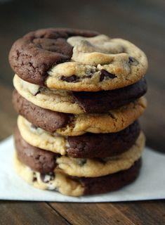 Brookies – Brownie + Chocolate Chip Cookie