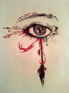 Cool take on the eye of ra