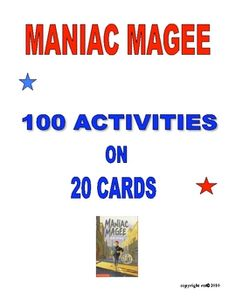 Maniac Magee Two Mills Times