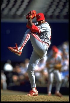 Jose Rijo: Cincinnati Reds 1990 1990! The Reds got everyone's attention in those days.