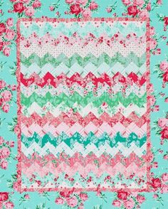 Quilting Tendencia Color: Teal | AllPeopleQuilt.com