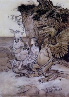 : I'll Tell You My History from Alice in Wonderland, by Arthur Rackham.