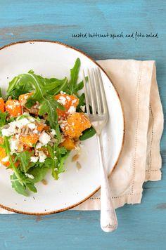 Butternut squash salad!