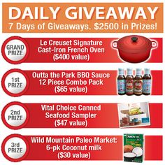 Enter for a chance to win: http://villagegreennetwork.com/fall-into-health-daily-giveway-saturday/