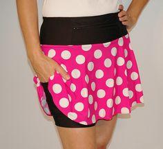 PinkMiniTech 1/2 marathon skirt? Has shorts underneath!