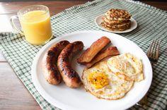 Paleo Irish Boxty + Full Irish Breakfast