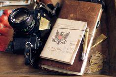 voyage. camera. passport