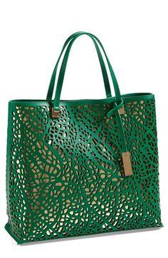 Ivanka Trump 'Julia' Perforated Handbag available at #Nordstrom