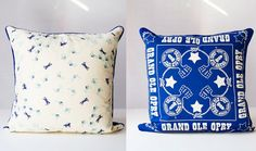 Pillow Cover  GRAND OL' OPREY Vintage Scarf by PomegranateVintage, $73.00