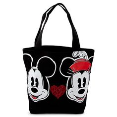 Mickey and Minnie Mouse Tote | Bags & Totes | Disney Store