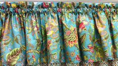 "Jasleen Valance 72""w x 15""l @ $19.99. To Order Call toll-free 877-722-1100"