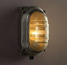 lights, restoration hardware, hallway lighting, boy rooms, wall sconces, lighting ideas, french nautic, bathroom, powder rooms