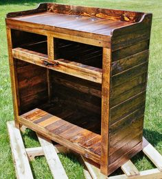 Reclaimed Wood Entertainment Stand | Home Furniture | FAS Projects | Scoutmob Shoppe | Product Detail