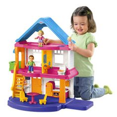 My First Dollhouse™ (Caucasian Family) - $40