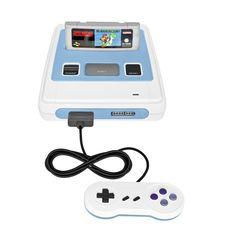 Super Nintendo + Super Mario game