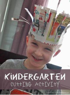 recycled paper crown, Genius!