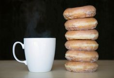 Some days coffee and donuts are all I need.