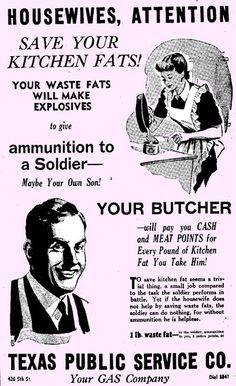 Save Your Kitchen Fats!