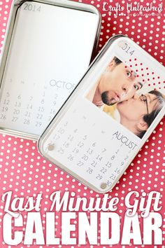 Fabulous DIY Gift Calendar Crafts Unleashed with #printables