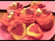 Valentine's Cupcakes ♡ Hidden Hearts