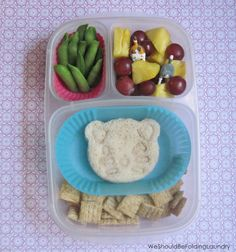 Fun lunch idea | packed in @EasyLunchboxes containers