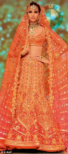 BMW India Bridal Fashion Week was opened by couturier Tarun Tahiliani