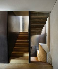 bonitos contrastes http://www.enricduch.com interior design, houses, anna noguera, stair, news, interiors, alemani, architecture, light