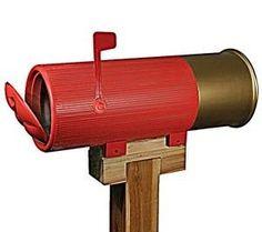 shell mailbox, gift, stuff, texa, shotguns, mail boxes, shotgun shells, thing, snail mail