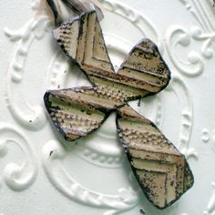 Decorative Wall Cross Ceiling Tin Vintage Metal