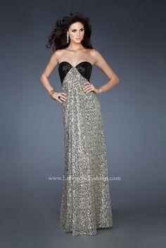 La Femme Dress 18491 at Peaches Boutique