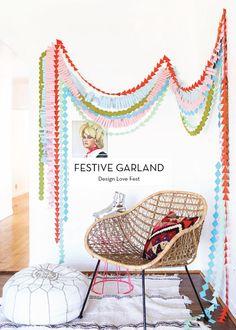 10 OCTOBER DIYS – Festive Garland