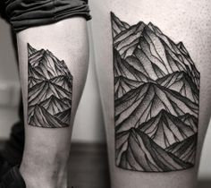Kamil Czapiga, mountains, tattoo