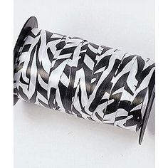 Zebra Curling Ribbon