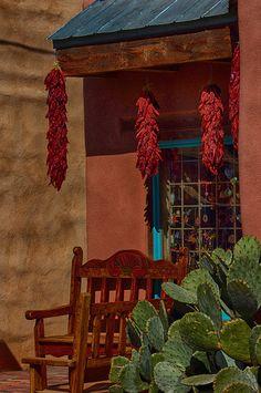 Red Chile Ristras Shop - Old Albuquerque, New Mexico
