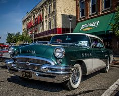 1955 Buick @ Cool City Car Show