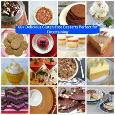 60+ Delicious Gluten Free Desserts Perfect for Entertaining