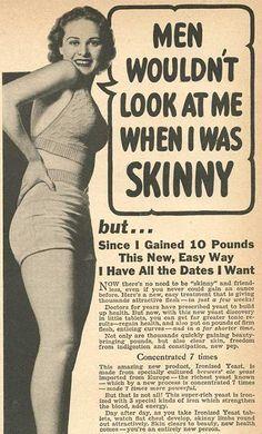 Skinny wasn't always the preferred look...