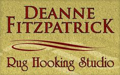 Rug Hooking by Deanne Fitzpatrick