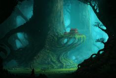 The Colossal Trees by *Blinck on deviantART