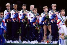 1996 US women's gymnastics team