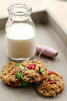 .milk and cookies