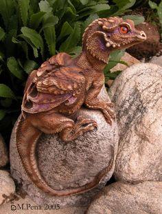 Little Rock Dragon by M. Pena