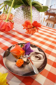 origami table setting #Origami #Decoration