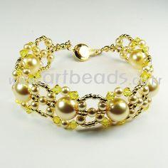 An easy pattern for nice bracelet
