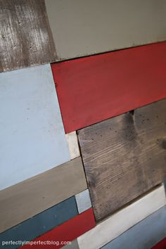 PAINTED FURNITURE CO. | PAINTED FURNITURE | CHALK PAINT | PERFECTLY IMPERFECT | RED FURNITURE | COLOR PALETTE