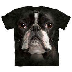 The Mountain: Boston Terrier Face Tee XXL, at 18% off!
