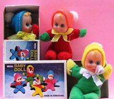 Vintage Mini Matchbox Baby Doll