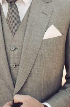 grey tux!